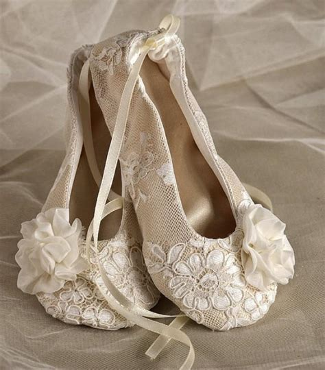 lace ballet slippers satin flower shoes baby toddle ballet flats for