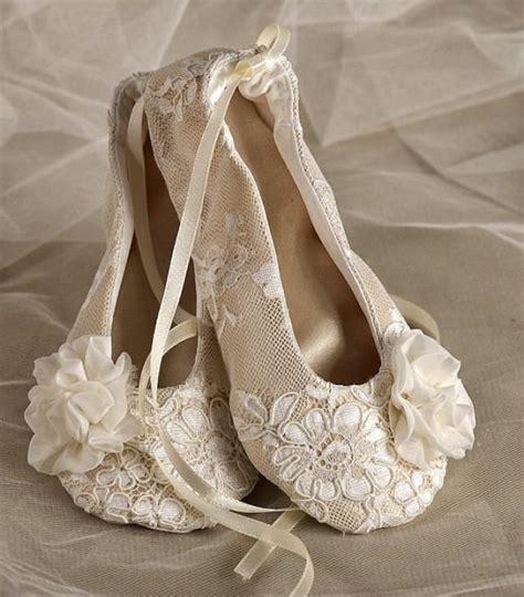 Lace Ballerinas Velvet satin flower shoes baby toddle ballet flats for