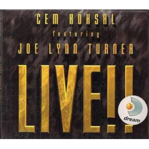 cem köksal featuring joe lynn turner live!! (cd) at discogs