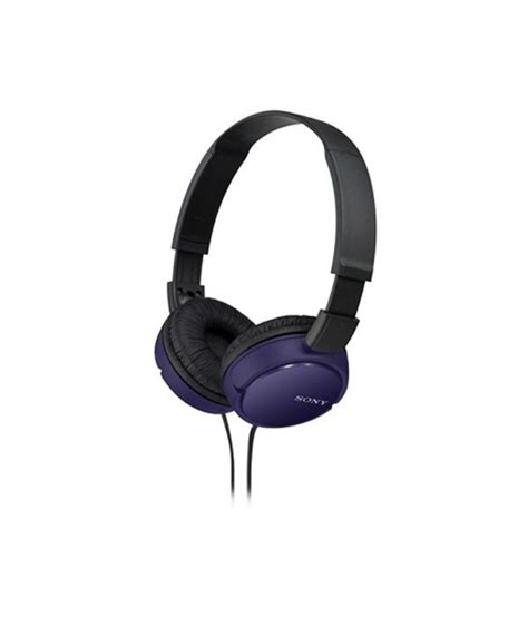 Sony Headphones Mdr Zx110a buy sony mdr zx110a on ear headphones violet and black