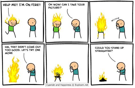 funny cyanide happiness comic quotes  comics cyanide happiness facebook jokes funny