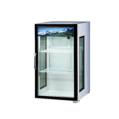 Glass Door Cooler 1 Door Cooler Refrigerator Display Coolers Pop Beverages Beverage Cooler Glass Doors