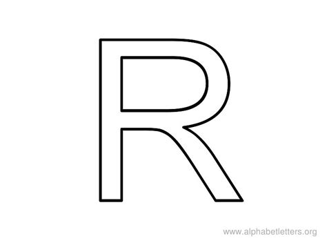 Letter R Images free coloring pages of writing letter r