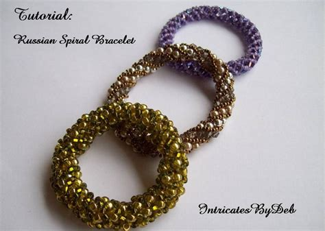 Beaded Russian Spiral Bangle or Bracelet   Jewelry Inspirations   Pinterest   Spiral, Bangle and