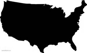 stencil united states sign