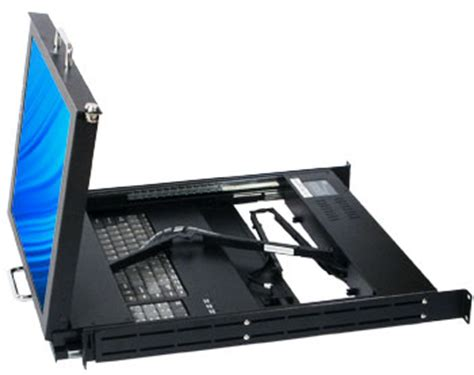 Server Rack Monitor by Dual Slide Rail Monitor Keyboard Rack Console Dmk 520