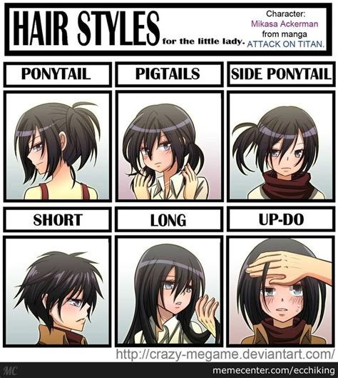 10 of the most ridiculous anime hairstyles in existance 103 best images about attack on titan on pinterest