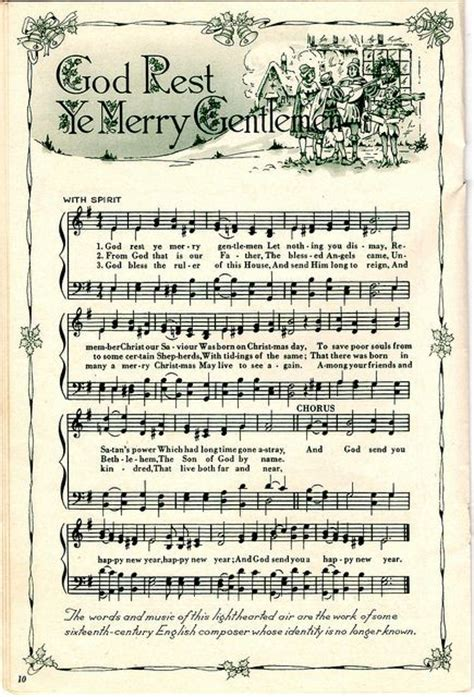 printable xmas songs 17 best images about musique on pinterest printable