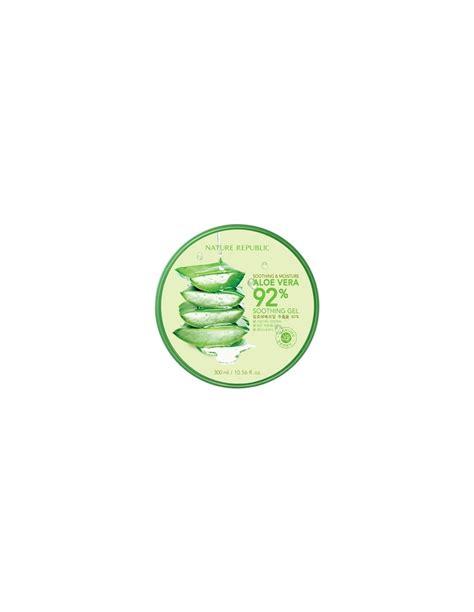Nature Republic Aloe Vera 92 Soothing Gel 300ml Review nature republic soothing and moisture aloe vera 92