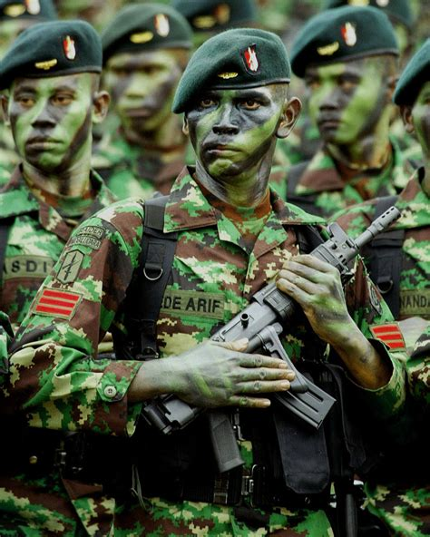 Pocket Pangkat kerry b collison asia news indonesia s special forces