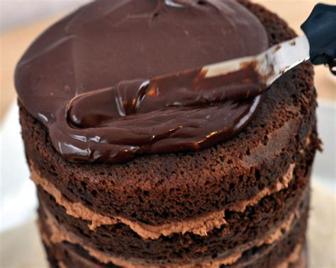 Martha Stewart Kitchen Ideas by Chocolate Ganache Cake Recipe Dishmaps