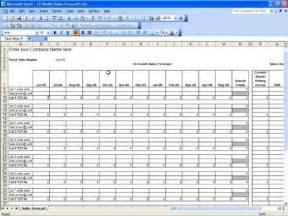 Business Forecasting Template Sales Projection Template Themesclub Net