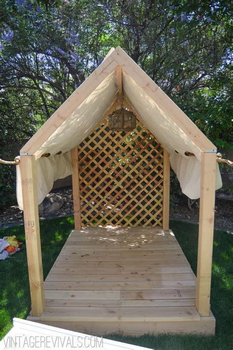 Kids Backyard Forts How To Build A Backyard Playhouse The Garden Glove