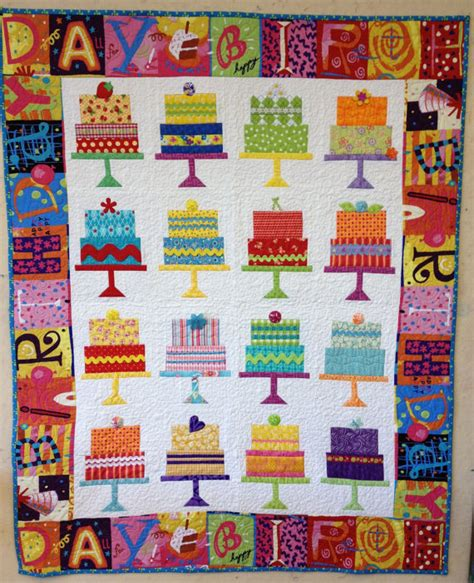Happy Quilt Shop by Happy Birthday Cake Quilt Pattern On Etsy 9 25 Quilt