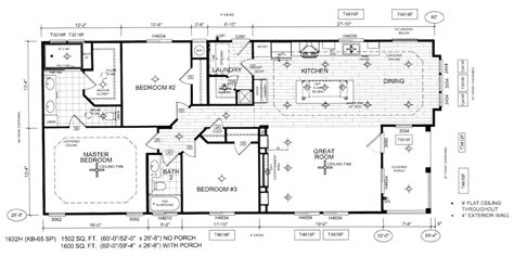 modular home floor plans california manufactured homes silvercrest homes kingsbrook kb 65