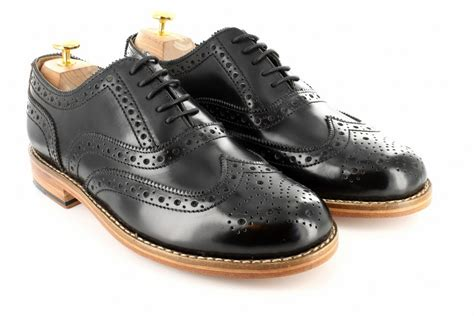gatsby brogue black shoes for by gentlemen prefer brogues