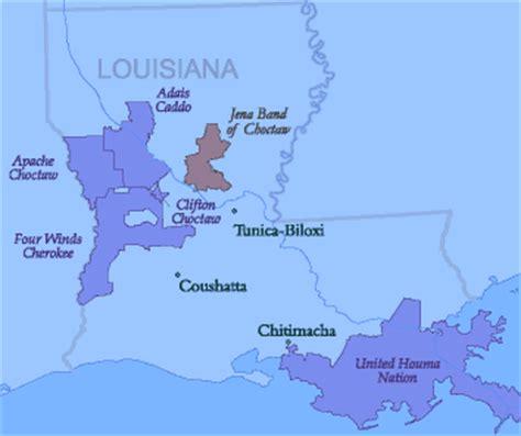 louisiana nations map  snow riders