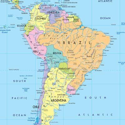 america map countries countries of south america map quiz