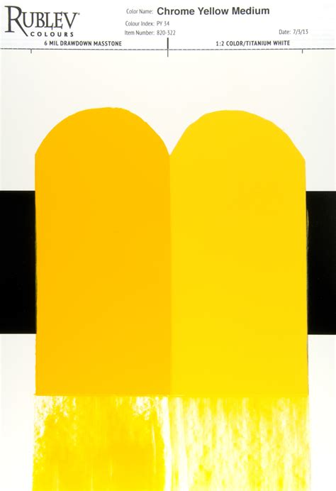 chrome yellow artists materials chrome yellow a primary color with a