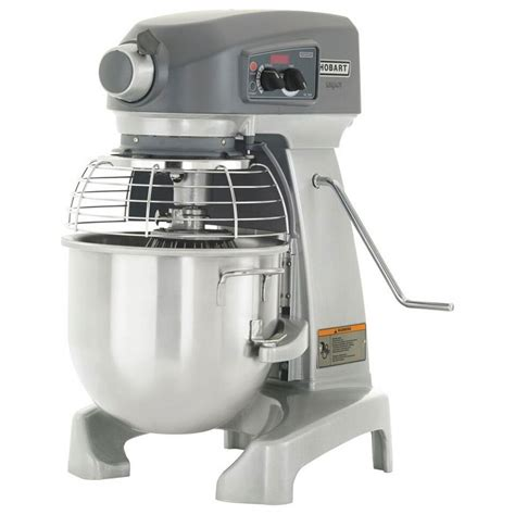 bench mixer hobart hl200 10std 20 qt planetary bench mixer w stainless bowl whip 100 120 1 v