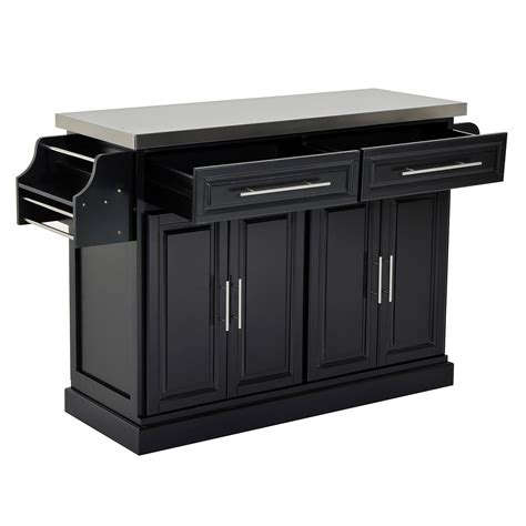 home goods kitchen island aosom homcom kitchen island modern rolling storage