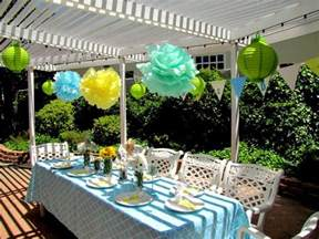 baby shower outdoor decorations outdoor baby shower ideas best baby decoration