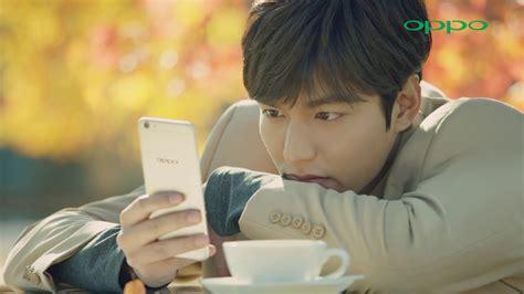 film lee min ho terbaru 2017 lee min ho for oppo r9s smartphone commercial film 05