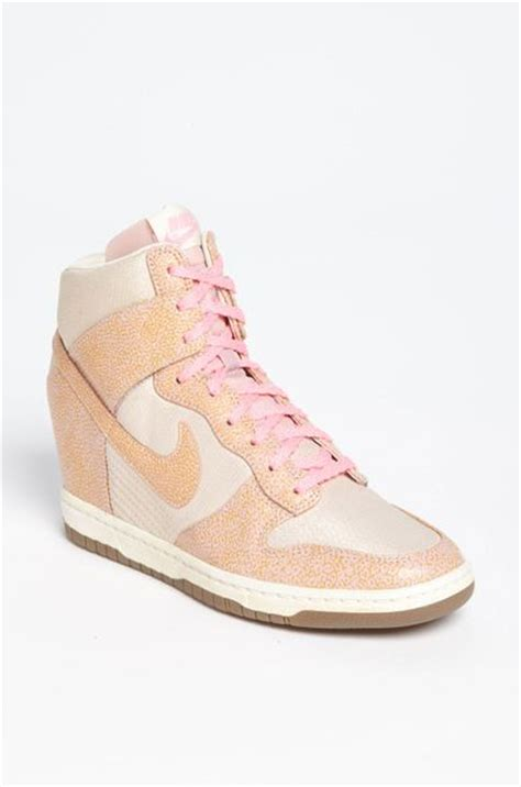 Sepatu Nike Sky Hi Dunk Pink Nike Wedges nike dunk sky hi wedge sneaker in orange desert sand pink lyst