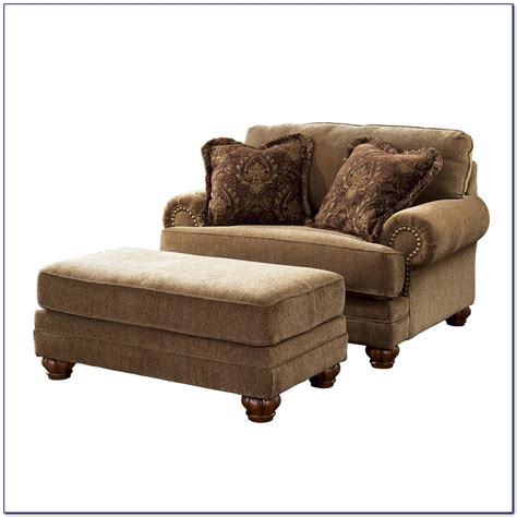 Chair Ottoman Design Ideas Chair And A Half With Ottoman Canada Chairs Home Decorating Ideas Veybvj4yda