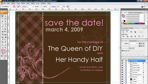 get techie as you wed 20 wedding invitation design software everafterguide