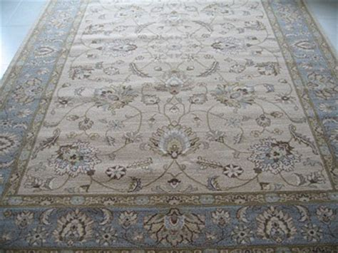 duck egg blue wool rug new afghan ziegler style beige duck egg blue wool rug 1 8 x 1 2m contemporary ebay