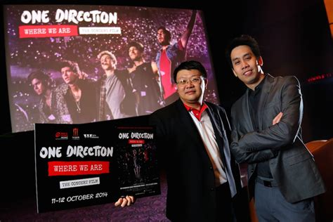 film dokumenter one direction where we are bec tero music join hands with major cineplex rolling out