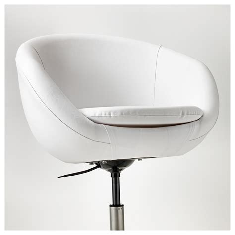 ikea swivel armchair skruvsta swivel chair idhult white ikea