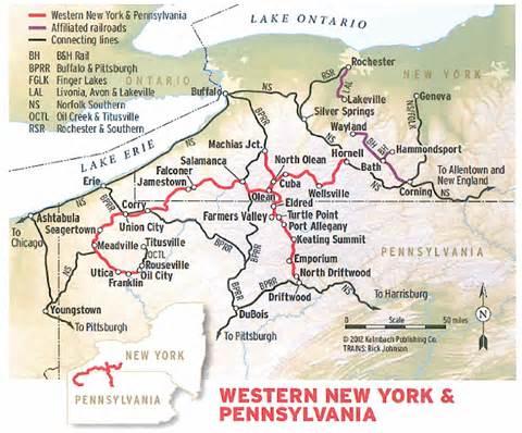 New York Pennsylvania Map by Hawkinsrails Net Western New York Amp Pennsylvania