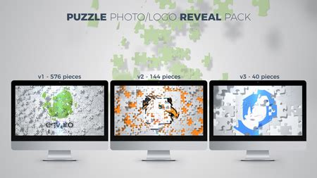 Puzzle Photo Logo Reveal Pack After Effects Template 20946617 Photo Reveal After Effects Template
