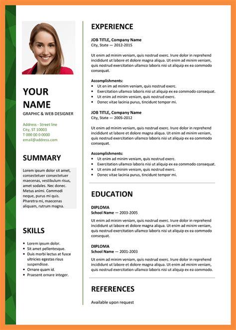 free resume templates 6 microsoft 5 6 microsoft word resume template free this free resume template bioexles