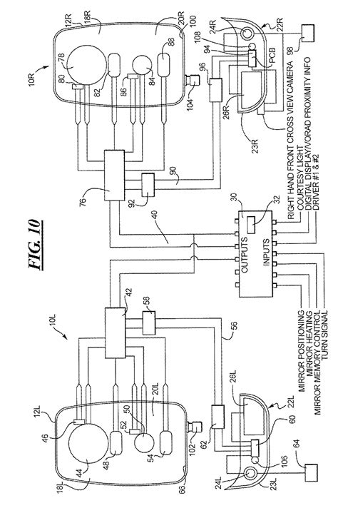 mirror diagram velvac mirror wiring diagram 28 wiring diagram images