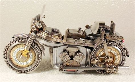 Motorrad Parts 24 T Nisvorst by The Feral Irishman Re Use Old Watches This Is Cool