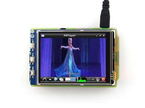 Lcd Touchscreen 3 3 2 Inch Touch Screen Tft Lcd Designed For Raspberry Pi