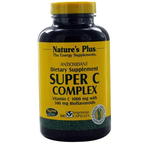 C Complex Natures Plus Vitamin C 1000 Mg Isi 60 nature s plus c complex 1000 mg 180 vcapsules