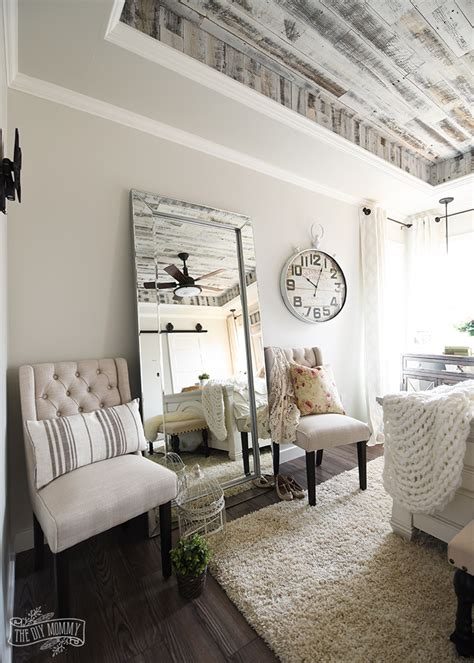 Modern Country Bedroom Decor by Our Modern Country Master Bedroom One Room