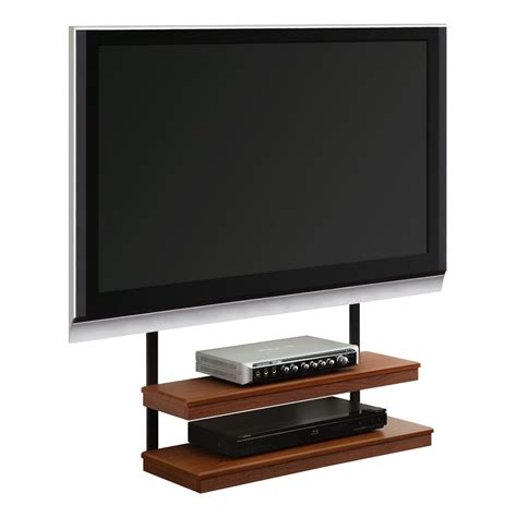 furniture narrow wall mount tv stand with two