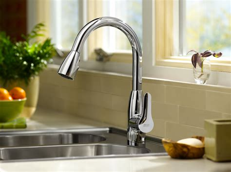 american standard  colony soft pull  kitchen faucet stainless steel touch