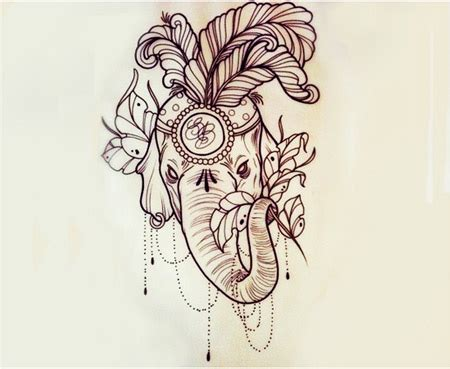 indian elephant tattoo designs 40 indian elephant tattoos and ideas