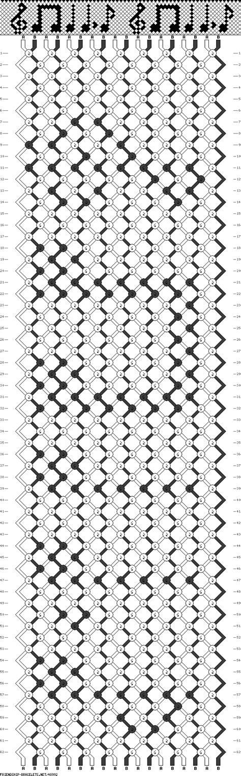 pattern notes 48992 friendship bracelets net