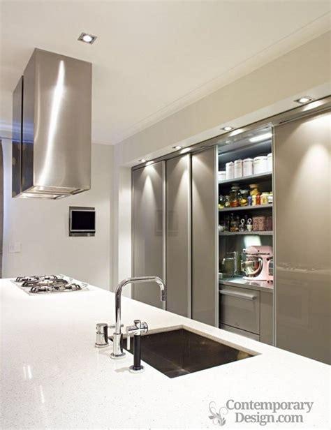 Pantry Modern Design by Modern Pantry Designs