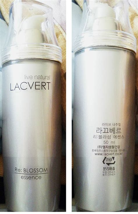 Lacvert Re Blossom Essence 50ml eternal pretty product recommendation for