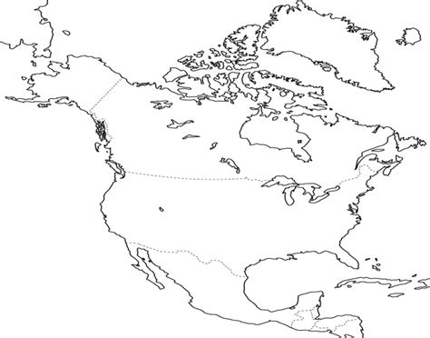 printable map quiz of north america north america blank map quiz driverlayer search engine