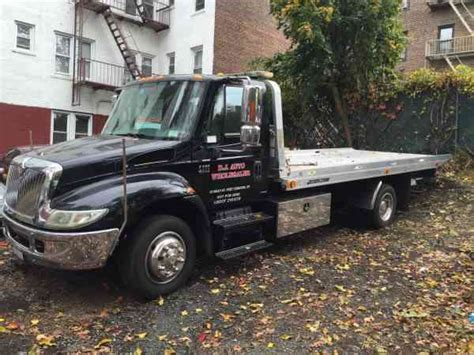 rollback bed international 4300 jerr dan 2007 flatbeds rollbacks