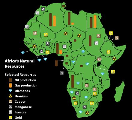 africa map resources by design mali spills into algeria